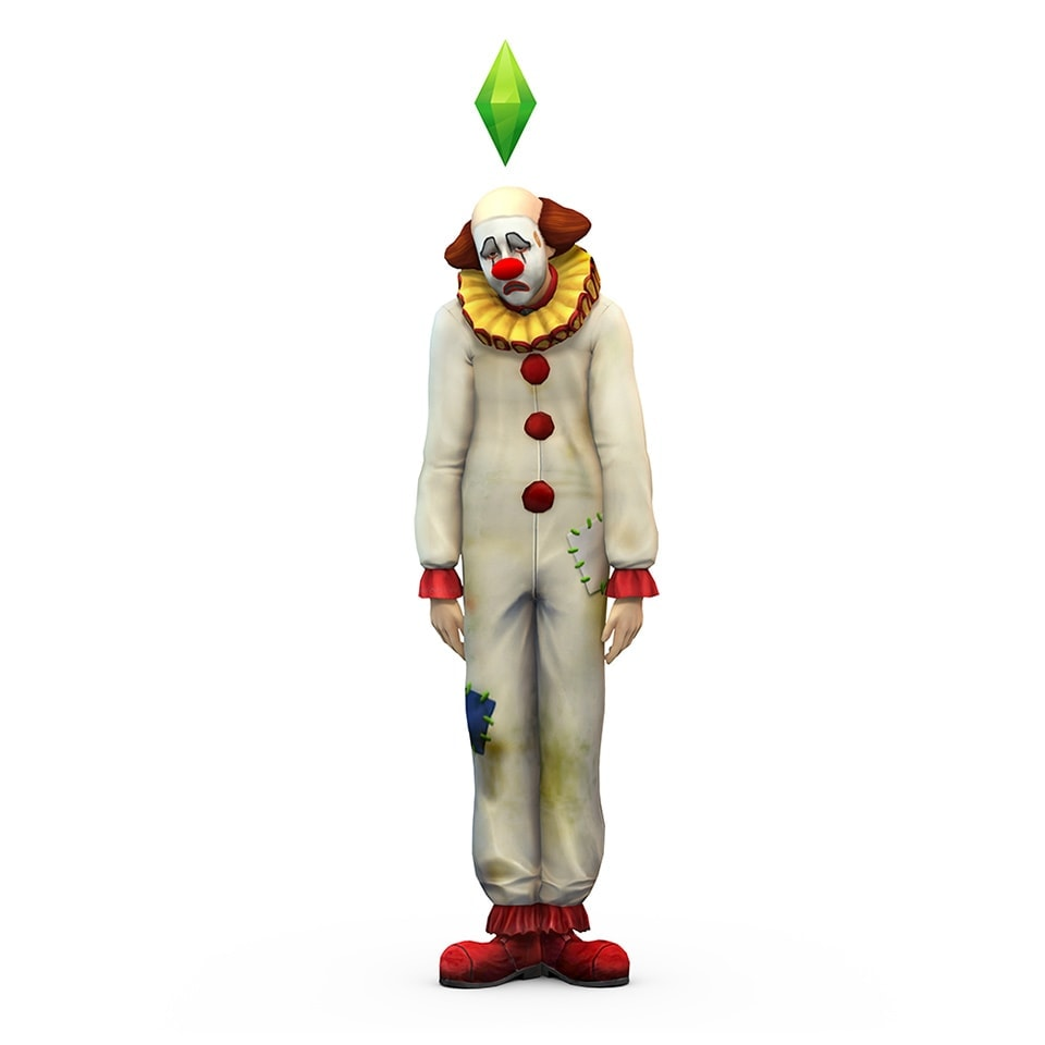 Download de Tragische Clown via de nieuwe Sims 4 update