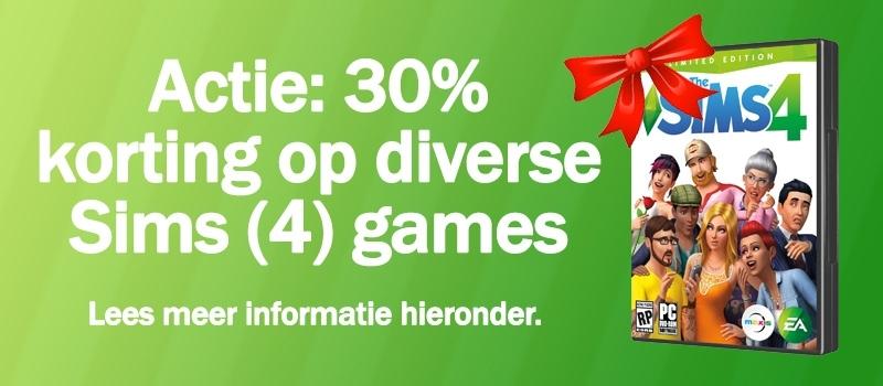 Download/koop Sims 4, Sims 4 Aan het Werk of Sims 4 Beleef het Samen, actie mei