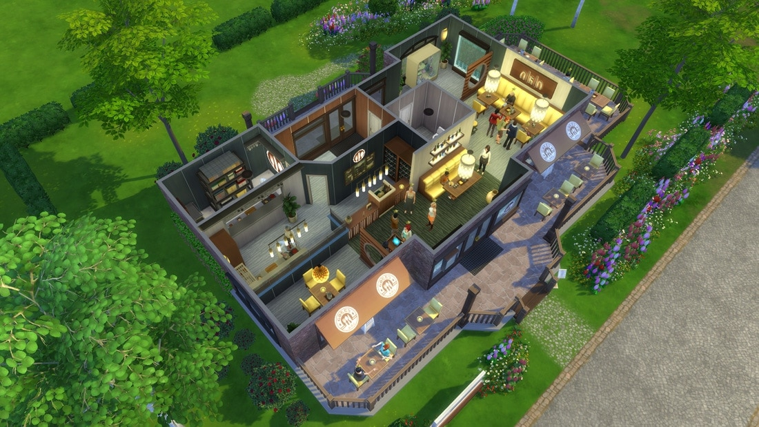 Download Sims 4 restaurant