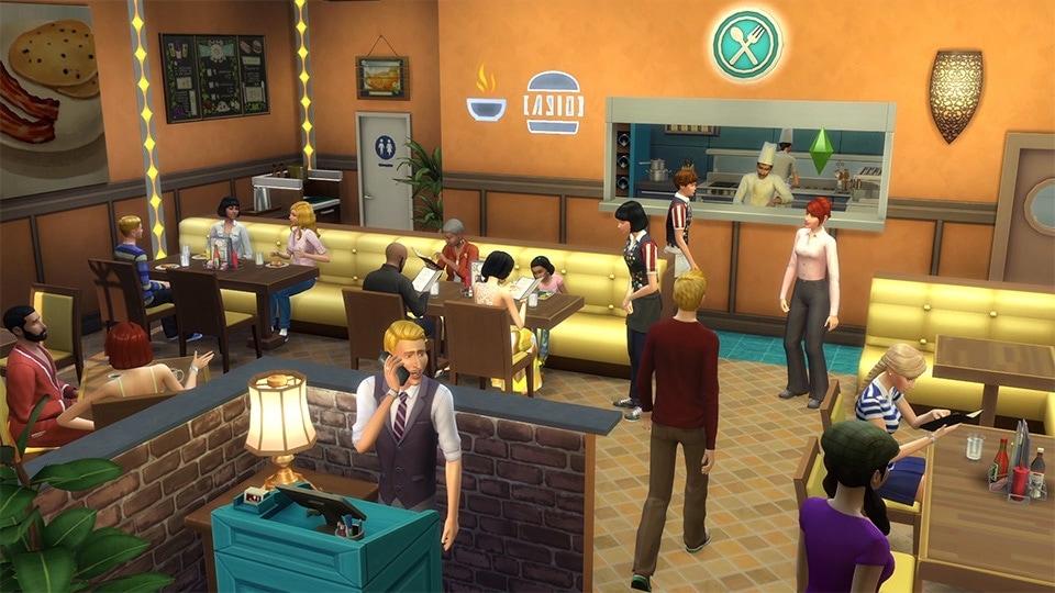Restaurant sims