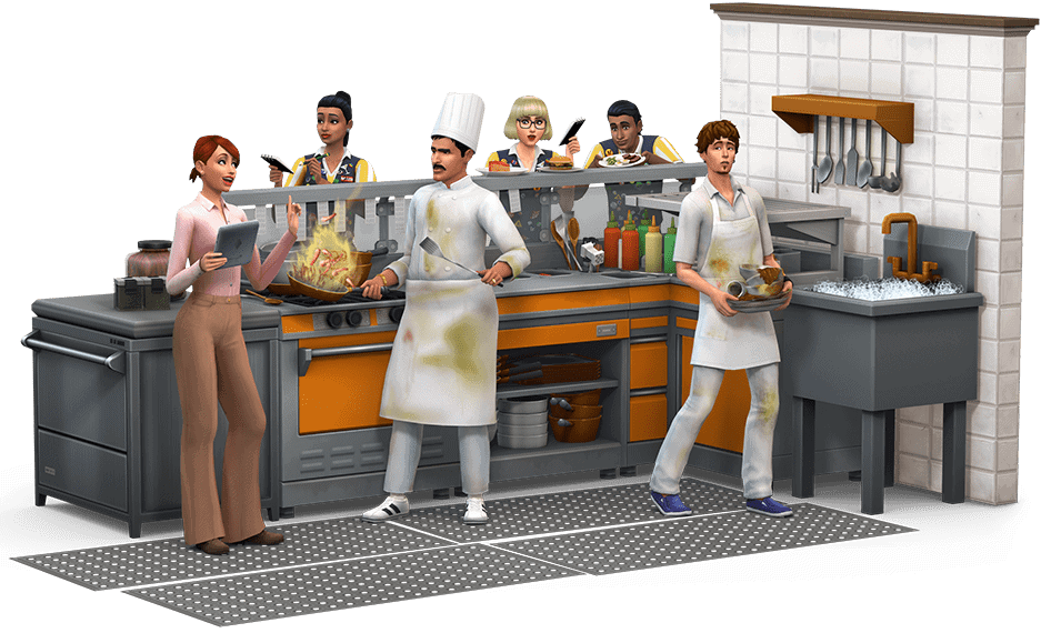Sims 4 Uit Eten artwork - 3