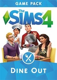 De Sims 4 Uit Eten Game Pack hoes/box