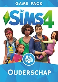 Sims 4 Ouderschap game pack hoes/box