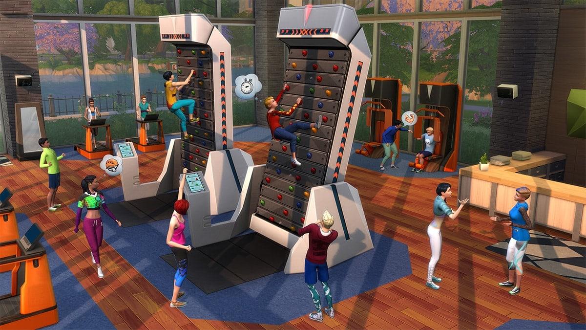 Accessoirepakket De Sims 4 Fitness Accessoires
