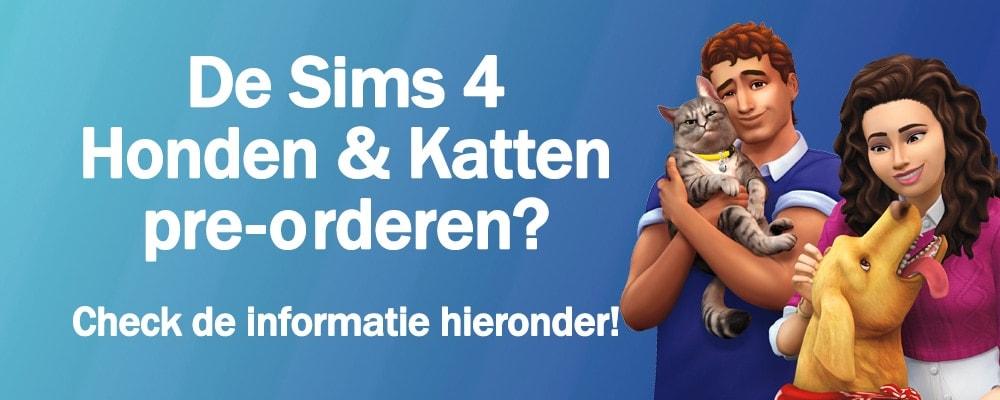 Pre-orderen: Sims 4 Honden & Katten kopen en downloaden
