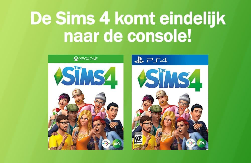 Sims 4 voor console