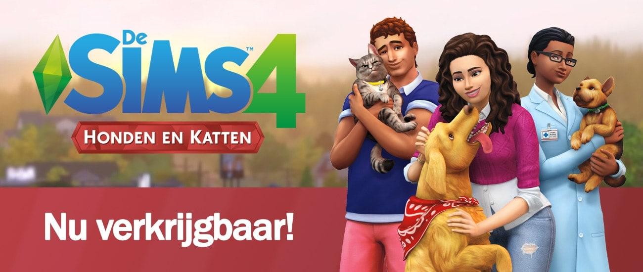 Uitbreidingspakket De Sims 4 Honden & Katten is nu verkrijgbaar, download het spel hier