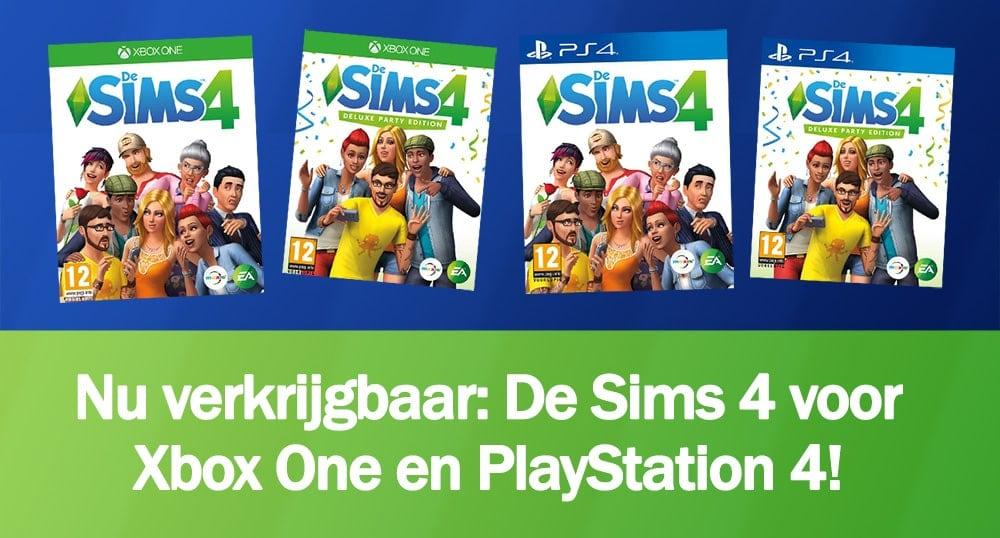 Nu verkrijgbaar: De Sims 4 console versies voor Xbox One en PlayStation 4