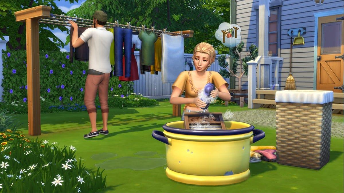 Accessoirepakket De Sims 4 Wasgoed Accessoires