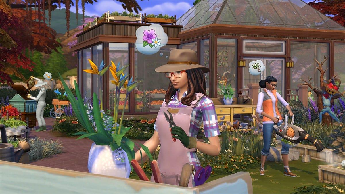 Uitbreidingspakket De Sims 4 Jaargetijden (Seizoenen)