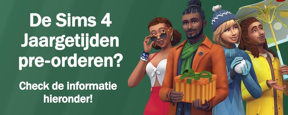 Pre-orderen: Sims 4 Jaargetijden kopen en downloaden