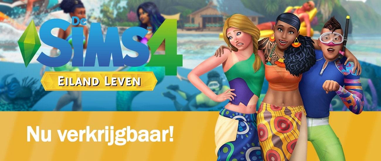 Uitbreidingspakket De Sims 4 Eiland Leven is nu verkrijgbaar, download het spel hier