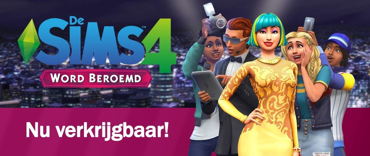 Uitbreidingspakket De Sims 4 Word Beroemd is nu verkrijgbaar, download het spel hier