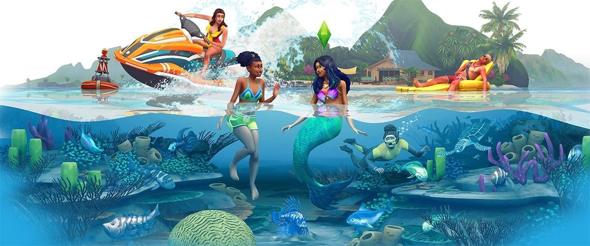 Uitbreidingspakket De Sims 4 Eilandleven