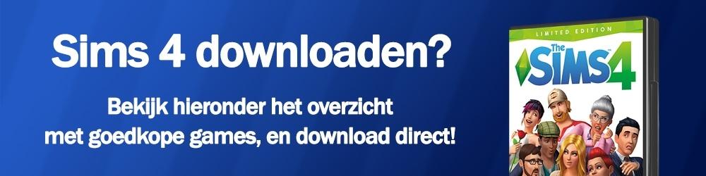 Sims 4 spellen downloaden