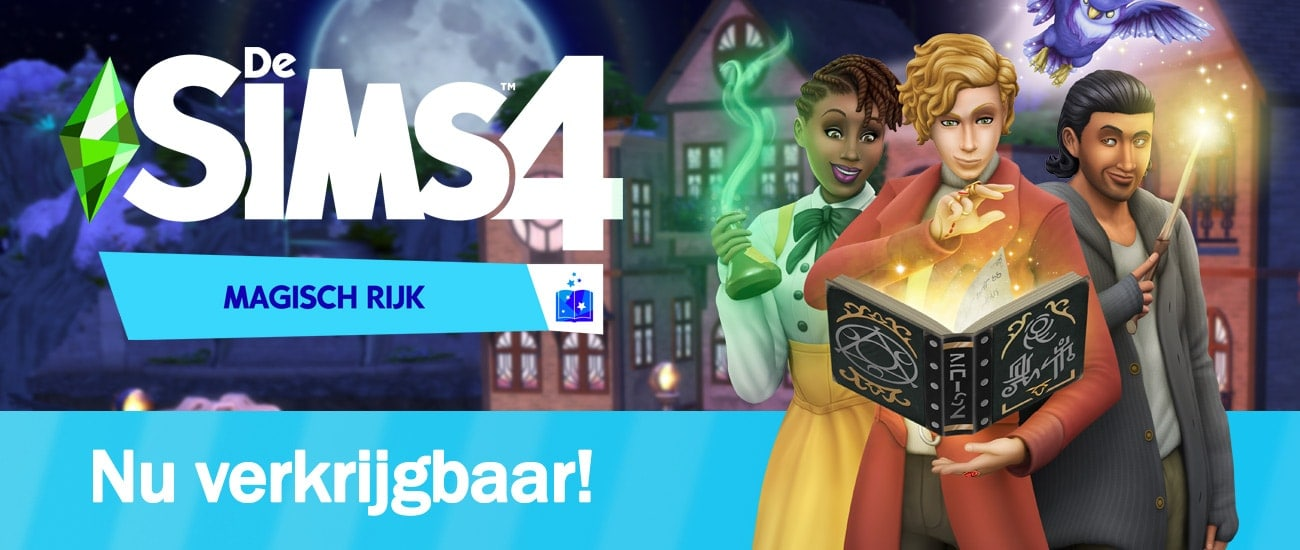 Game Pack De Sims 4 Magisch Rijk is nu verkrijgbaar, download het spel hier