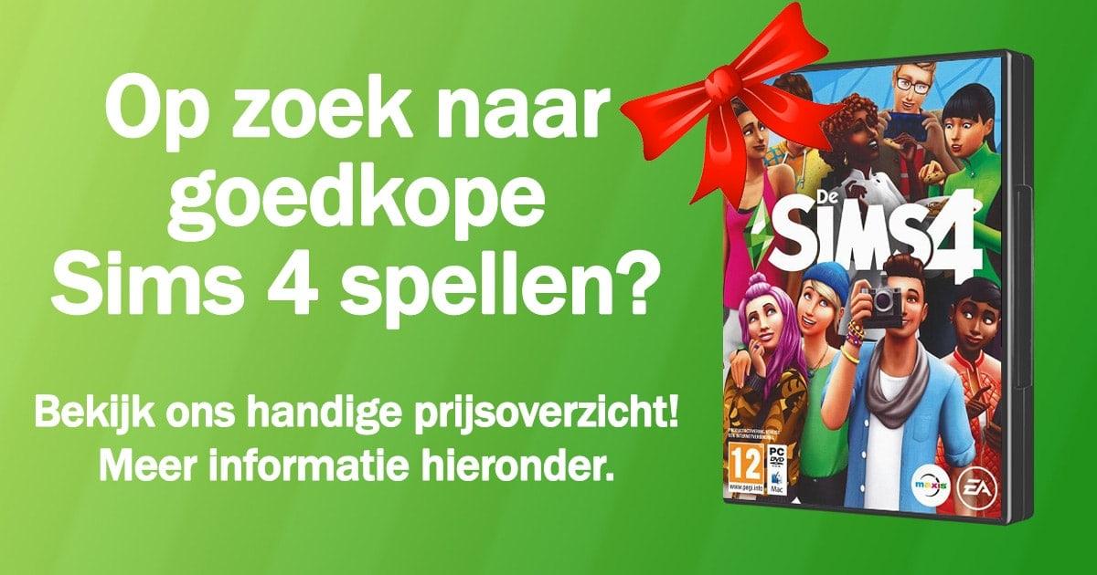Goedkope Sims 4 spellen kopen en downloaden - Januari 2020