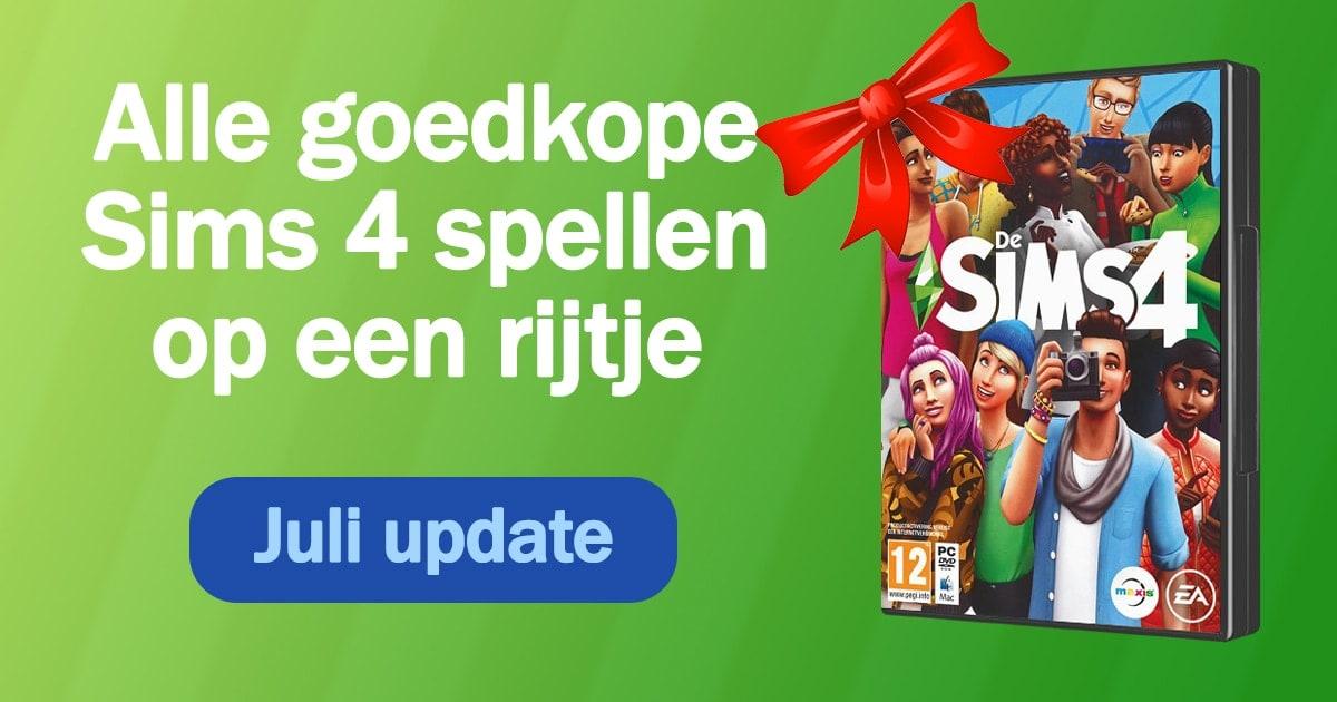 Sims 4 kopen en downloaden - Update juli 2020