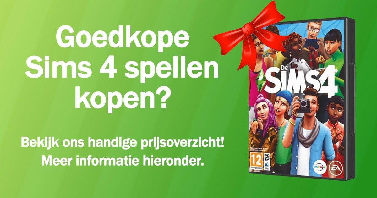 Sims 4 kopen en downloaden - Prijsupdate maart 2020