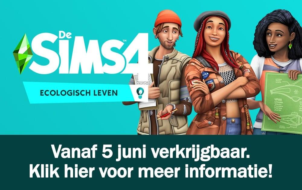 Informatie over uitbreidingspakket De Sims 4 Ecologisch Leven