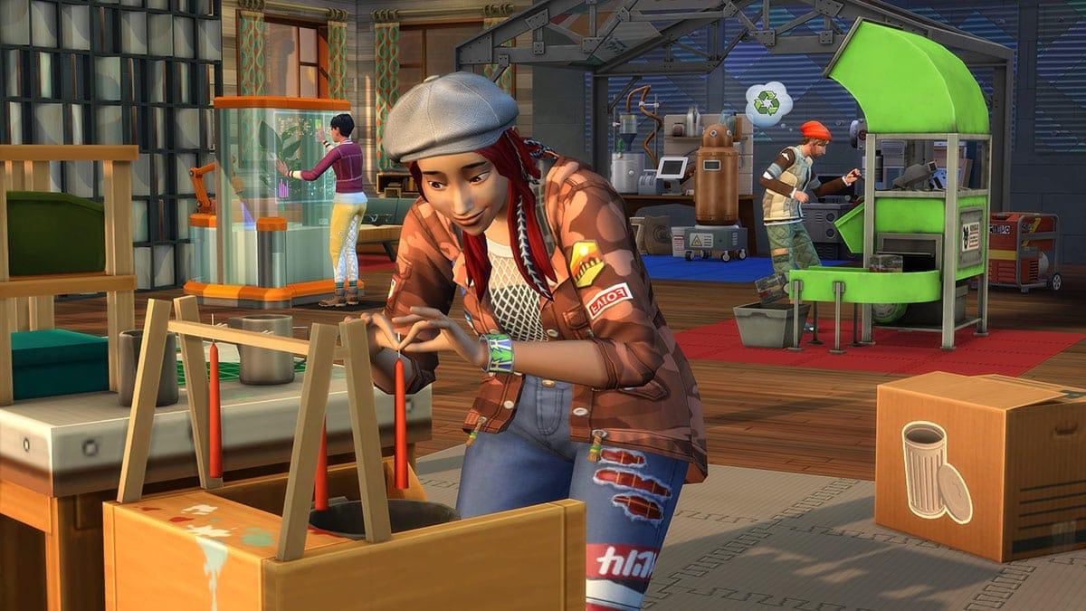 Uitbreidingspakket De Sims 4 Ecologisch Leven