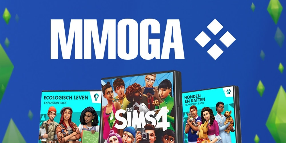 Download Sims 4 spellen voor PC en Mac via MMOGA