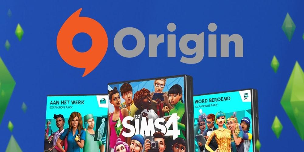 Download Sims 4 spellen voor PC en Mac via Origin