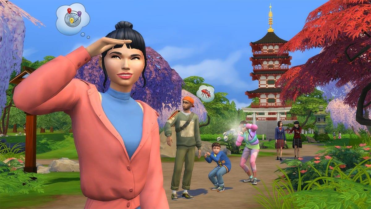Uitbreidingspakket De Sims 4 Sneeuwpret