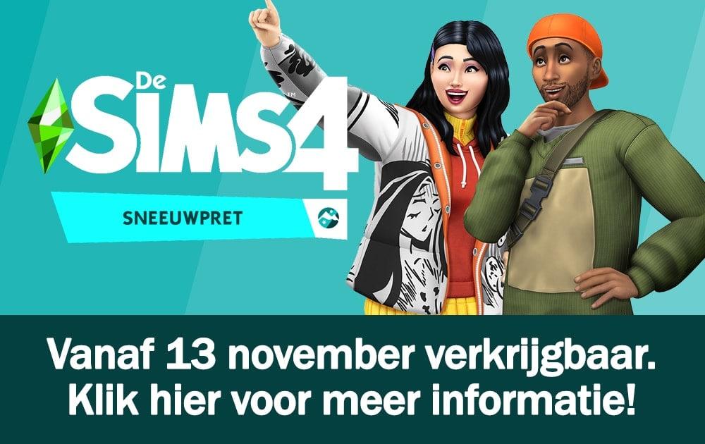 Informatie over uitbreidingspakket De Sims 4 Sneeuwpret