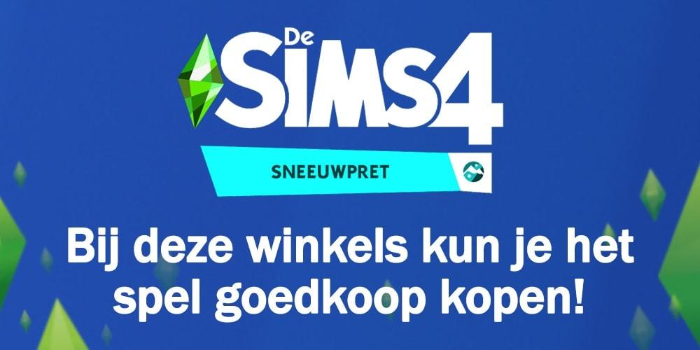 Bij deze winkels kun je De Sims 4 Sneeuwpret kopen en downloaden