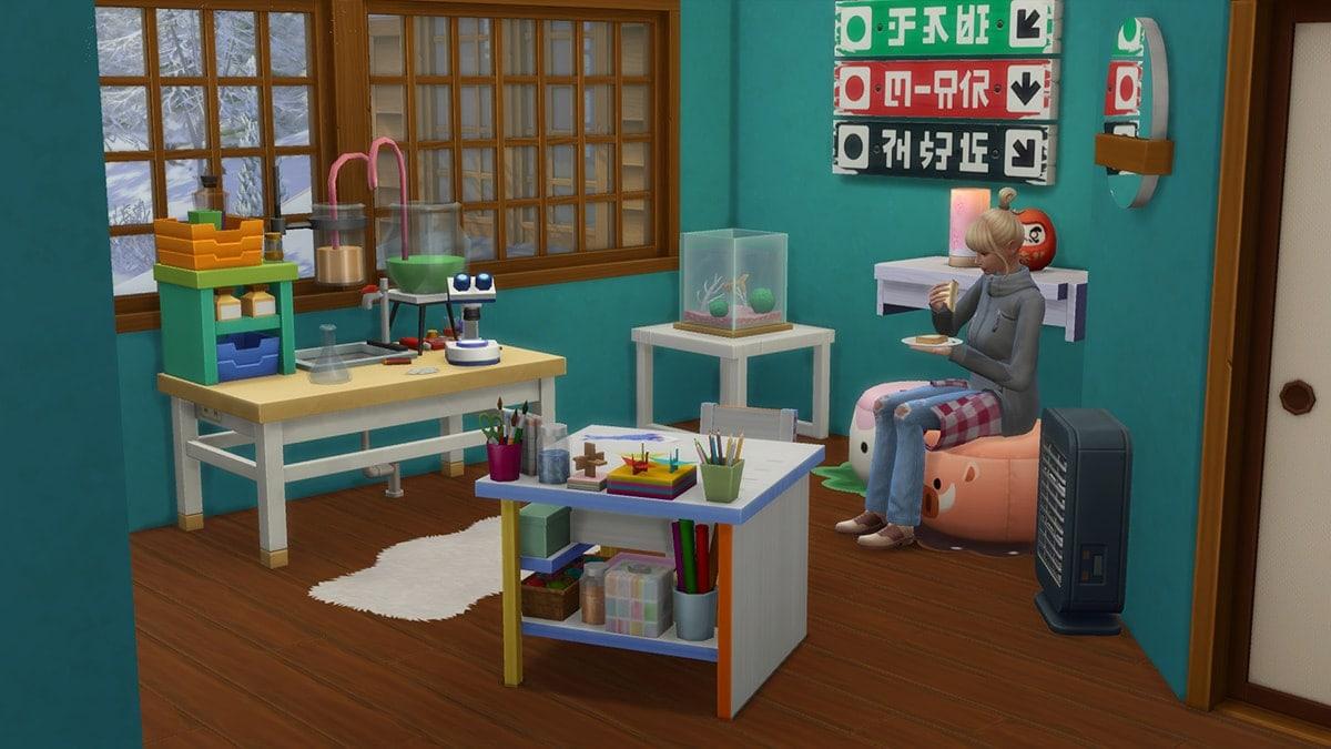 Nieuwe kinderkamer meubels in de koopmodus